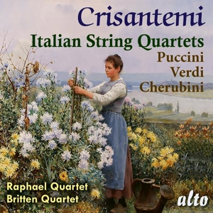 Crisantemi - Italienische Streichquartette von Puccini, Cherubini & Verdi