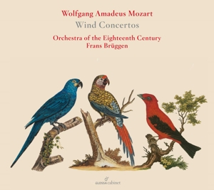 Wolfgang Amadeus Mozart: Bläserkonzerte - Klarinettenkonzert KV 622, Oboenkonzert KV 314, Hornkonzert KV 447