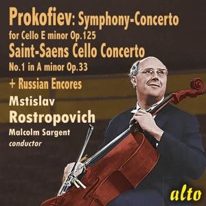 M. Rostropovich plays Cello Concertos & Russian Encores