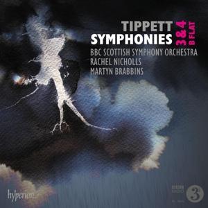Michael Tippett - Sinfonien Nr. 3, 4 , Sinfonie in B
