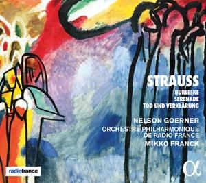Richard Strauss: Burleske in d-Moll; Serenade Op. 7; Tod & Verklärung Op. 24