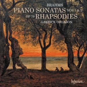 Johannes Brahms: Klaviersonaten Nr. 1 & 2; 2 Rhapsodien
