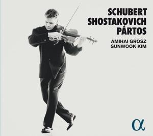 Partos/Schubert/Schostakowitsch -- Werke für Viola & Piano