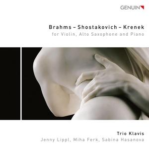 Brahms - Schostakowitsch - Krenek: Werke für Trio