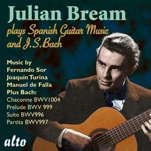 Julian Bream spielt Werke von Bach, Sor, Turina & de Falla