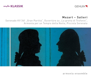 Wolfgang Amadeus Mozart/Antonio Salieri: Serenade B-Dur; Picciola Serenata B-Dur u.a.