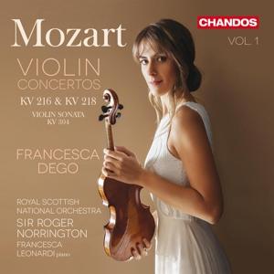 Wolfgang Amadeus Mozart: Violinkonzerte Nr. 3 & 4, KV 216 & 218, Violin-Sonate KV 304