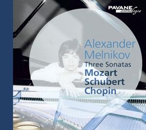 Mozart/Schubert/Chopin - Klaviersonaten