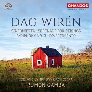 Dag Wirén - Sinfonie Nr. 3, Serenade Op. 11, Divertimento Op. 29 u.a.