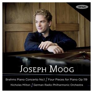 Johannes Brahms: Klavierkonzert Nr. 1 in d-Moll Op. 15; 4 Stücke für Klavier Op. 119