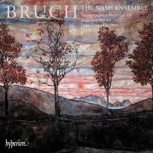 Max Bruch: Klaviertrio in c-Moll; Romanze für Viola & Klavier; Streichquartett in E-Dur u.a.