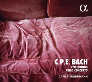 Carl Philipp Emanuel Bach - Sinfonien Wq 182 & Cellokonzert Wq 172