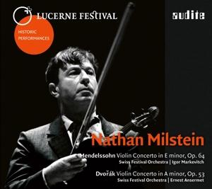 Nathan Milstein spielt Violinkonzerte von Mendelssohn & Dvorak
