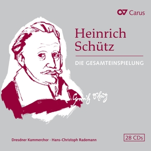 Heinrich Schütz: Die Gesamteinspielung