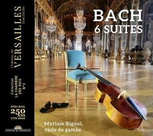 Johann Sebastian Bach: 6 Suiten für Violoncello solo
