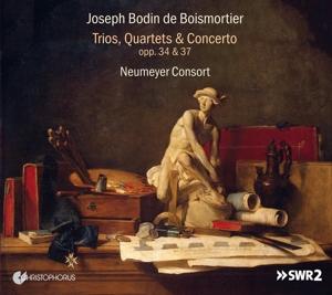 Joseph Bodin de Boismortier: Trios, Quartette & Concerto, Opp. 34 & 37