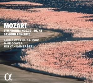 Wolfgang Amadeus Mozart -  Sinfonien Nr. 39-41 & Fagottkonzert KV 191