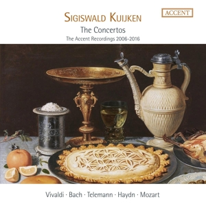 Sigiswald Kuijken - The Concertos - The ACCENT-Aufnahmen 2006-2016