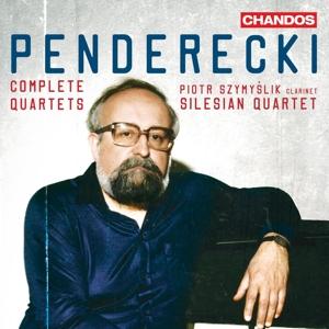 Krzysztof Penderecki: Die Quartette - Streichquartette Nr. 1-4; Quartett für Klarinette & Streichtrio