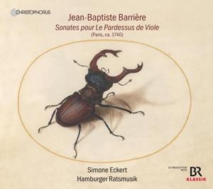 Jean-Baptiste Barrière: Sonates pour Le Pardessus de Viole