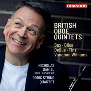 Britische Oboenquintette - Werke von Finzi, Bax, Bliss u.a.