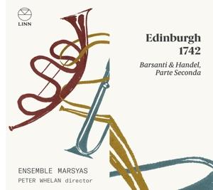 Edinburgh 1742 Vol. 2 - Werke von Barsanti & Händel