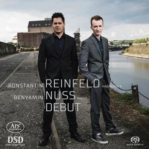 Debut - Werke für Harmonica & Klavier von Bach, Bartok, Reinfeld u.a.