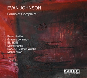 Evan Johnson: Forms of Complaint
