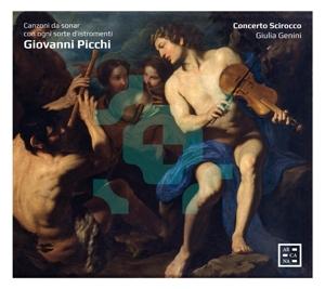 Giovanni Picchi: Canzoni da sonar con ogni sorte d?istromenti
