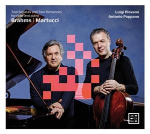 Johannes Brahms/Giuseppe Martucci: Cellosonaten; 2 Romanzen