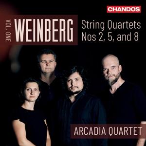 Mieczyslaw Weinberg: Streichquartette Nr. 2, 5 & 8