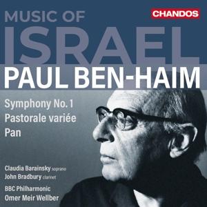 Paul Ben-Haim: Sinfonie Nr. 1; Pastorale variée; Pan
