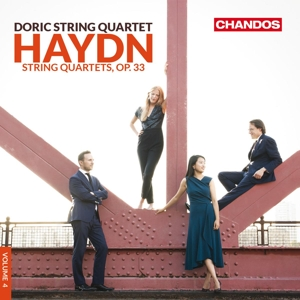 Joseph Haydn: Streichquartette Op. 33, Hob. III: 37-42