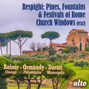 Ottorino Respighi - Pini di Roma; Fontane di Roma u.a.