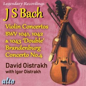 David Oistrakh spielt Violinkonzerte von Bach